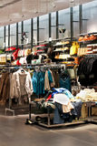 Clothing shop Royalty Free Stock Photography