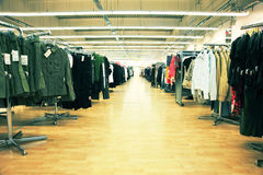 Clothing shop Royalty Free Stock Photos