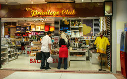 The clothing shop in the airport in phuket,thailand Stock Photography
