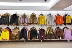 clothing shoppar Royaltyfri Foto