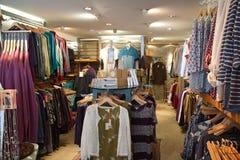 clothing shoppar Arkivbild