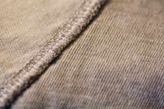 Clothing Stitch Royalty Free Stock Photos