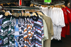 Clothing Store Royalty Free Stock Photography