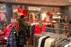 Clothing store Stock Image