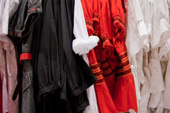 Clothing store 3. An image in a clothing store Royalty Free Stock Photography