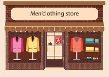 Clothing store Boutique. Stock Photography