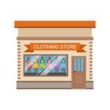 Clothing Store Commercial Building Facade Design Stock Photos