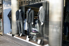 Clothing store display Royalty Free Stock Photo