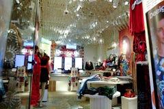 Clothing store Stock Photo