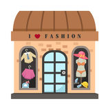 Clothing store vector Stock Photography