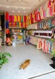 Clothing store, Vietnam Royalty Free Stock Photos