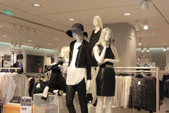 Clothing store Stock Images