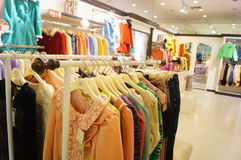 Clothing stores Stock Image