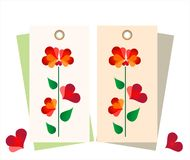 Clothing tag Stock Images