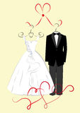 Clothing for weddings Royalty Free Stock Photo