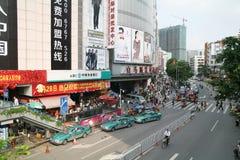 Clothing wholesale market of baima. In guangzhou china Royalty Free Stock Photography