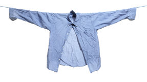 Cloths drawn. On white background Royalty Free Stock Photography