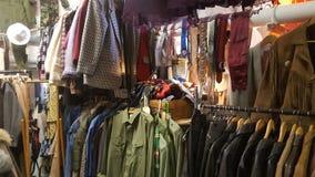 Cloths market Royalty Free Stock Photos
