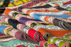 Cloths. On a market in southamerica Royalty Free Stock Image