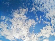 cloudd'a Image libre de droits
