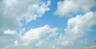 Cloud. White cloud, blue sky, just after a rain stock photos