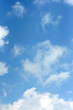 Cloud. White cloud, blue sky, just after a rain royalty free stock photos
