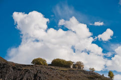 Cloud. The beautiful clouds at Tibet plateau Stock Photo
