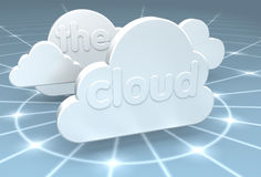 The Cloud Royalty Free Stock Photos