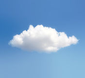 Cloud. Against The Blue Sky Stock Image