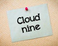 cloud 9 Zdjęcia Royalty Free