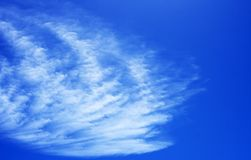 Cloud. And blue sky Stock Images