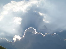 Cloud. Photo of cloud royalty free stock photo