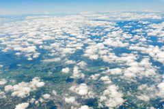 Cloud from above Royalty Free Stock Photo