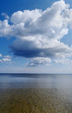 Cloud above sea. Stock Images