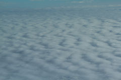 Cloud from above Stock Photography
