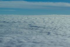 Cloud from above Stock Image