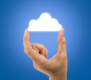 Cloud access Royalty Free Stock Photo