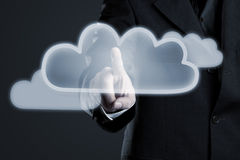 Cloud activation Royalty Free Stock Photography