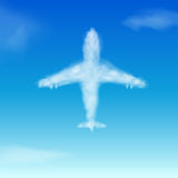 Cloud. Airplane Stock Photography