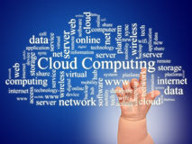 Free Cloud And Hand. Stock Photos - 30505543