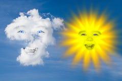 Free Cloud And Sun Royalty Free Stock Photos - 9101278