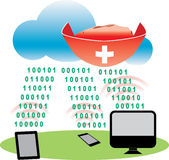 Cloud Antivirus Stock Images