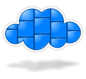 Cloud applications Royalty Free Stock Photos