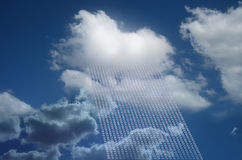 Cloud as cloud computing stock photos