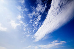 Cloud Background Royalty Free Stock Image
