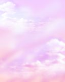 Cloud background. Pink background with clouds, heavenly Royalty Free Stock Images