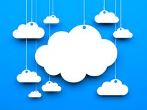 Cloud background Stock Image