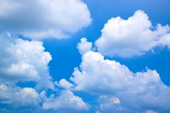 Cloud background in the sky. 1710080023 Royalty Free Stock Image