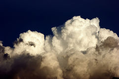 Cloud bank Royalty Free Stock Photos