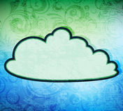 Cloud banner Stock Photo